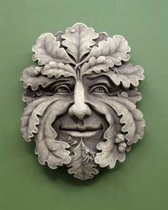 Green Man -- Carruth Studio: Waterville, OH