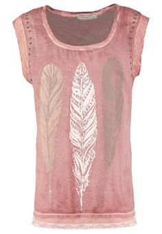 ☮ American Hippie Bohéme Boho Style  ☮ Feather print T-shirt