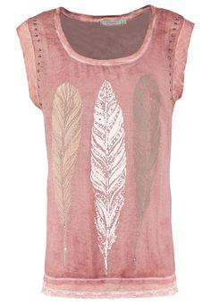 ☮ American Hippie Bohéme Boho Style  ☮ Feather print T-shirt