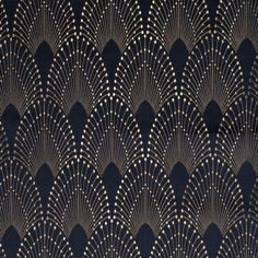 Glamorous upholstery Jacquard. Intricately detailed. Inspired by 'flapper'…