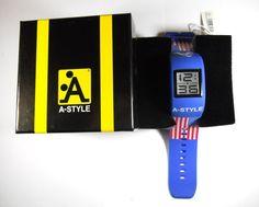 Orologio da polso unisex A-Style Bandiera Usa