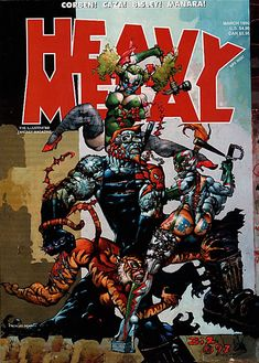 Heavy Metal Magazine March 1999 - Simon Bisley Gallery.com