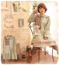 Most of the specific Mori Girl fashion lines are sold in Japan. But there are ways to achieve this style.