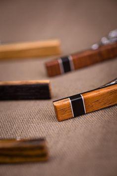 Bag Of Money Tie Clip Wooden Tie Bar