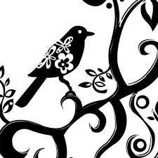blackbird silhouette - Google Search