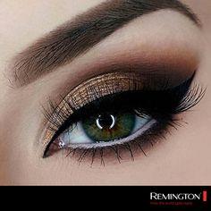 Los tonos cobres son perfectos para darle a tu mirada profundidad y un toque de glamour. ¡No dudes en llevarlos!