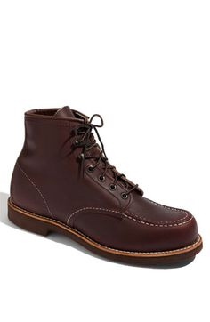 Red Wing Embossed Moc boot. #men #fashion #style #boots #shoes