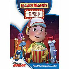 Disney Handy Manny Movie Night DVD