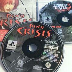 Dino Crisis demo Black Label on Mercari Dino Crisis, Play 1, Playstation, Label, Black, Black People