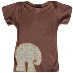Brown crosshatch elephant, would be cute to make