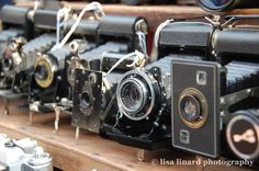 Antique Cameras at London's Portobello Market. (c) Lisa Linard Photography.
