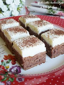 Hungarian Desserts, Hungarian Recipes, My Recipes, Cooking Recipes, Favorite Recipes, Dessert Cake Recipes, Cake Cookies, Biscotti, Food And Drink