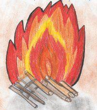 Leonardo: Le fiamme e la caldaia