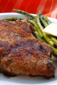 "Italian Breaded Pork Chops | ""Same as my Sicilian family recipe! Love it. Can also be used on skinless chicken.. any piece, just adjust baking time. Breading can be done up to a day in advance too."""