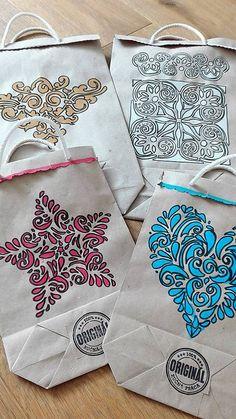LuJo / Sada 7 kusov EKO darčekových tašiek