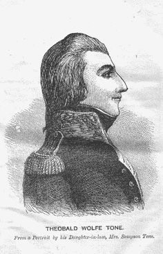 Theobald Wolfe Tone: Leader of the 1798 rebellion, Irish independence leader