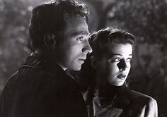 A scene taken from Moonrise, a nifty 1948 film noir directed by Frank Borzage and starring Dane Clark & Gail Russell. I like the Southern Gothic element also used.