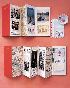 Accordion-Style Travelogue - Martha Stewart Home & Garden