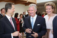 Hereditary Princess Sophie of Liechtenstein - Queen Mathilde attends a meeting in Liechtenstein