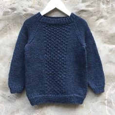 Image of Carl Sweater Str. Knit Baby Sweaters, Toddler Sweater, Boys Sweaters, Winter Sweaters, Boys Knitting Patterns Free, Knitting For Kids, Knitting Projects, Couture Sewing, Winter Tops