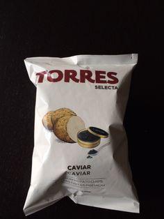 Day 7:  02: caviar crisps  - By Ana