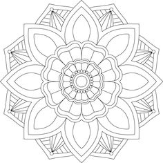 Mandala Monday 17 Free Design To Download And Colour In Mandala Dots, Mandala Pattern, Mosaic Patterns, Mandala Design, Quilt Patterns, Free Adult Coloring Pages, Mandala Coloring Pages, Coloring Book Pages, Mandala Stencils