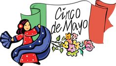 Information and clip art for Cinco de Mayo. Use this clip art on invitations, posters and other crafty projects.