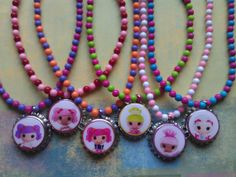 lalaloopsy necklace Also available for Valentine's por bellecaps, $4,50