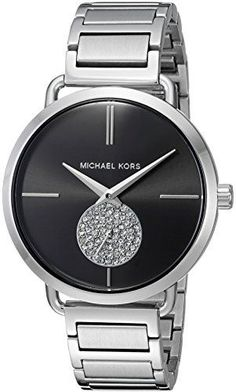 0263444cec00 Michael Kors Watches Collection 2018   2019   Michael Kors Women s Portia  Silver- Tone Watch