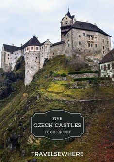 5 Czech Castles to Check Out. Travel in Eastern Europe via /travelsewhere/