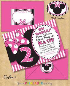 Minnie Mouse Printable Invitations Free