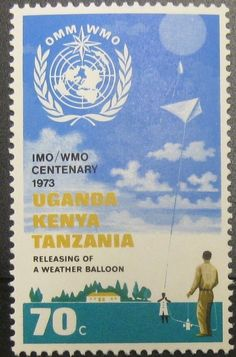 KUT Intl. Meteorological Coop 70c 1973