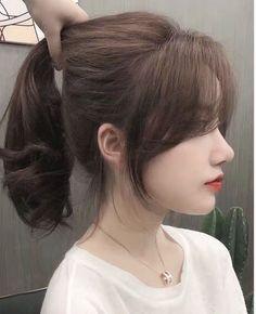 Medium Hair Cuts, Long Hair Cuts, Medium Hair Styles, Curly Hair Styles, Korean Long Hair, Asian Short Hair, Ulzzang Hair, Haircuts Straight Hair, Hair Color Streaks