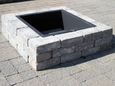 Pavestone Fire Pit with Inner Protection