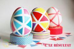 geometric eggs easter - madame-citron.fr