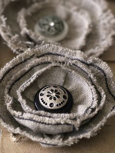 Hand stitching on the fly: more brooches for retail stores. | by marie-nicole BLOG
