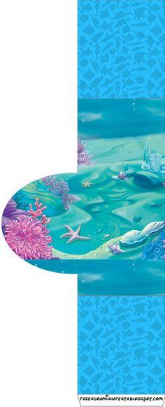 Imprimibles bajo el mar 6. | Ideas y material gratis para fiestas y celebraciones Oh My Fiesta!