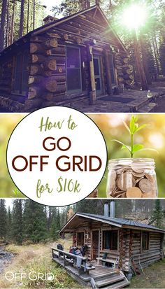 How to go off grid now for $10k