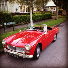 1963 MG Midget Mk1 Maintenance of old vehicles: the material for new cogs/casters/gears/pads could be cast polyamide which I (Cast polyamide) can produce