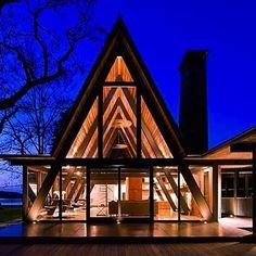 A-Frame Resurgence - A-Frame House - Bob Vila