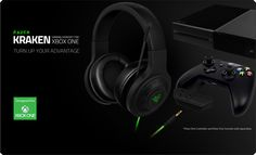 Razer Kraken for Xbox One with unidirectional microphone features superior sound isolation, and powerful drivers for highest-quality gaming audio.