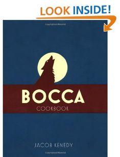 Bocca Di Lupo cookbook