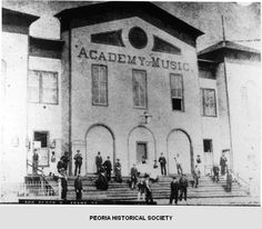 Downtown Peoria Il 1920 S History Peoria Il Area