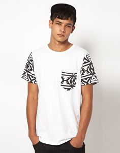 Enlarge My Yard T-Shirt with Aztec Sleeves