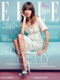 Alexa Chung For Elle UK