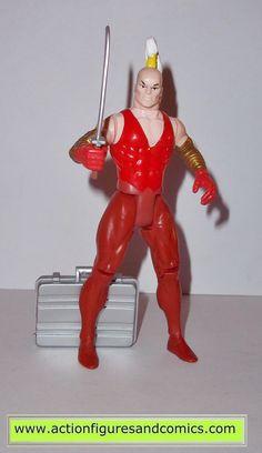 X-MEN X-Force toy biz GIDEON 1992 complete marvel universe action figures 1993