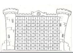 castillo de numeros 0-99
