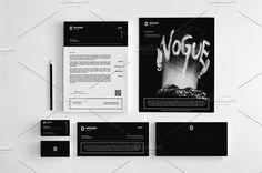 Clean Stationery Design Set by Creadeas on @creativemarket