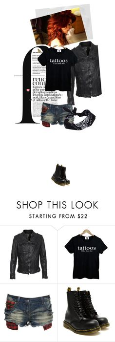 """""""~Random Set__Kat~"""" by micah-wolf ❤ liked on Polyvore featuring TIGHA, Retrò, Crafted, Dr. Martens, ASOS and French Connection"""