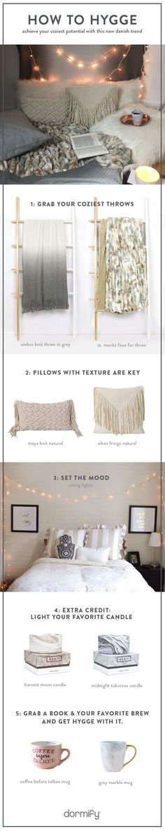Bring New Decor Trend Hygge Home (danish for basically feeling cozy af). Netflix and hot chocolate encouraged.to Bring New Decor Trend Hygge Home (danish for basically feeling cozy af). Netflix and hot chocolate encouraged.